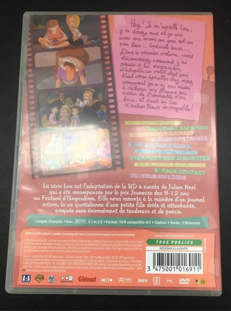 DVD Lou Volume 1