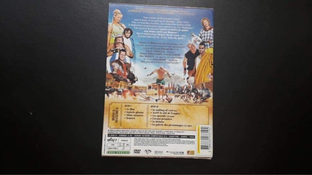 DVD Astérix aux Jeux Olympiques