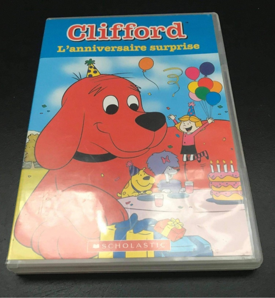 DVD Clifford l'anniversaire surprise