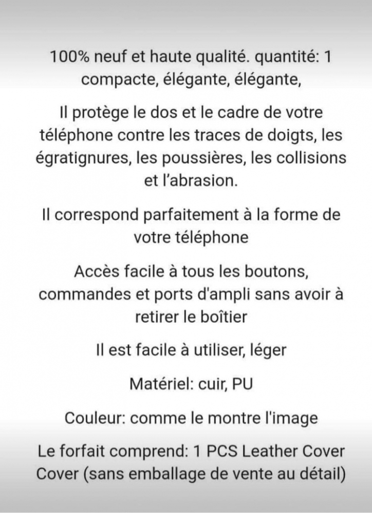 Coque de téléphone