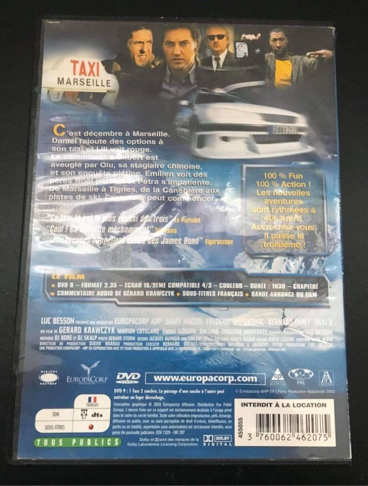 DVD Taxi 3