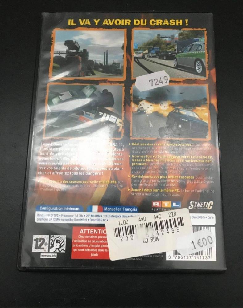 DVD Jeu PC Alerte Cobra Nitro