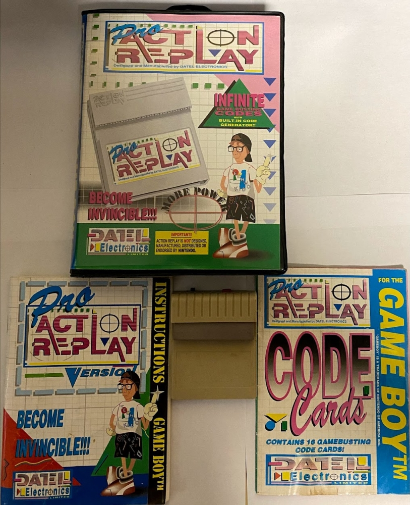 Action replay gameboy