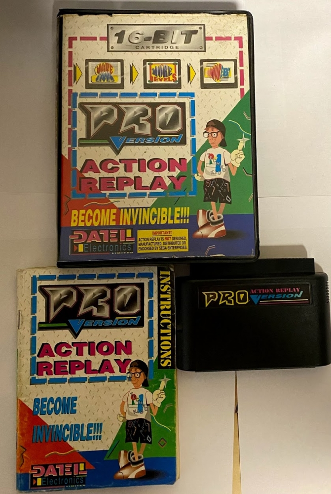 Action replay pro Megadrive