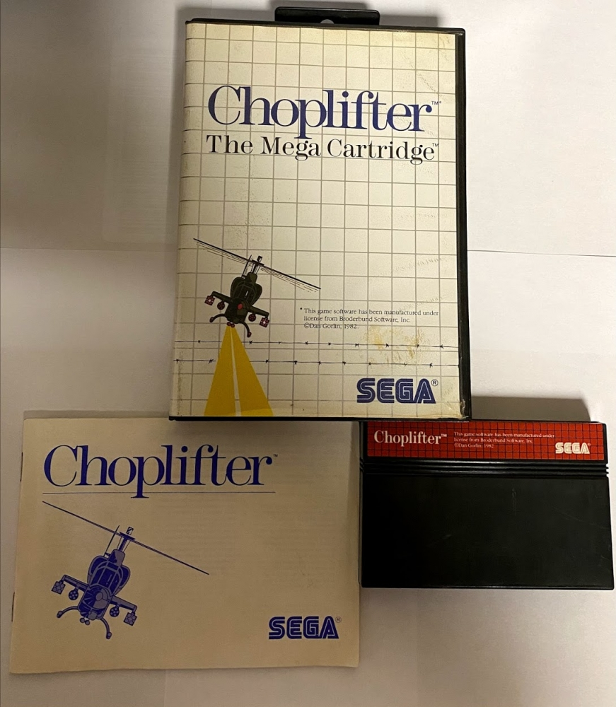 Choplifter MASTER SYSTEM