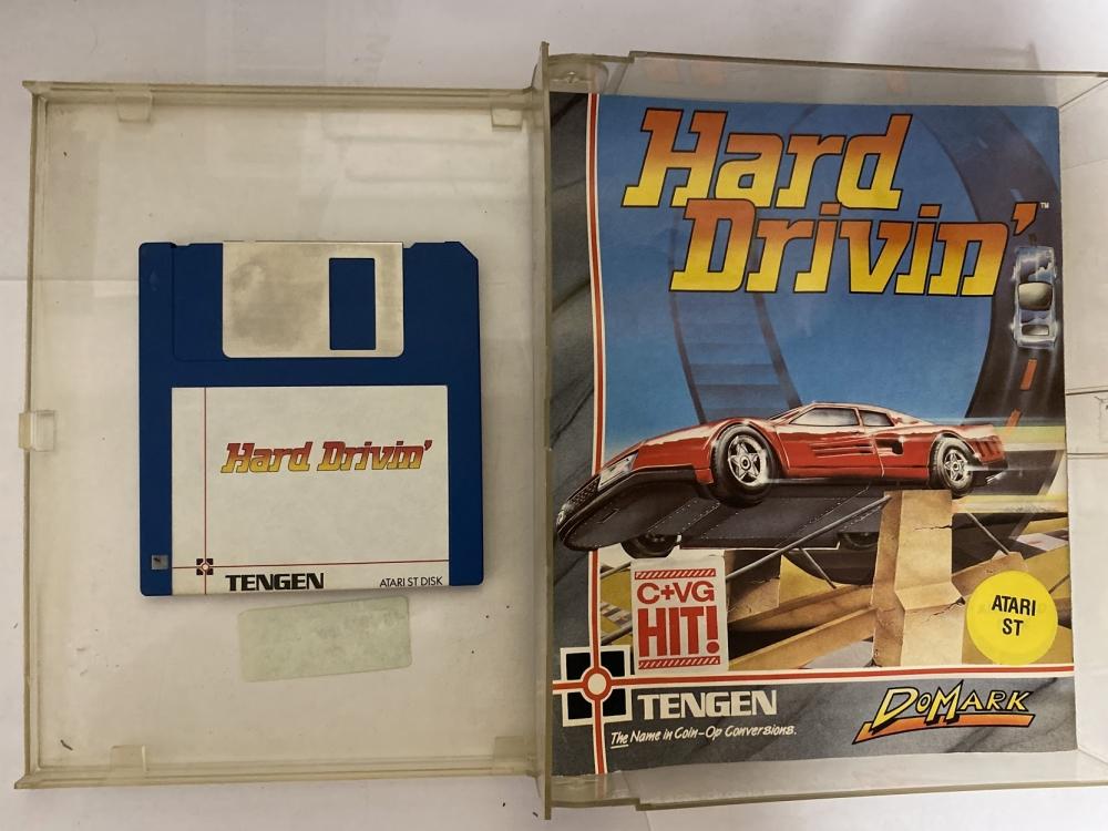 Hard drivin' Atari St
