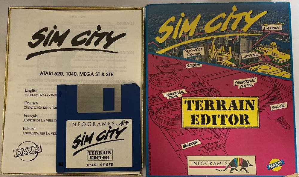 Sim city terrain editor