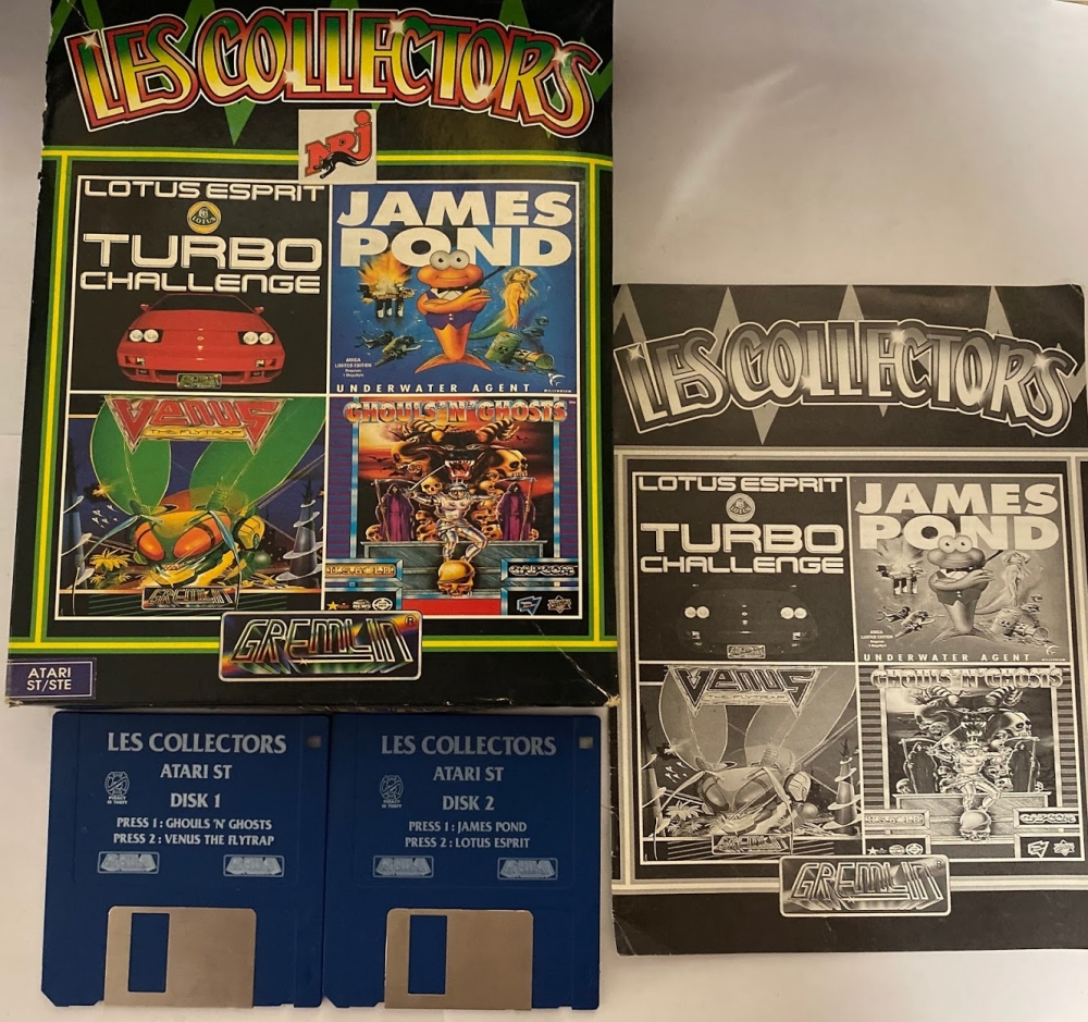 Les collectors Ghouls n Ghost lotus turbo esprit challenge Venus the flytrap James pond