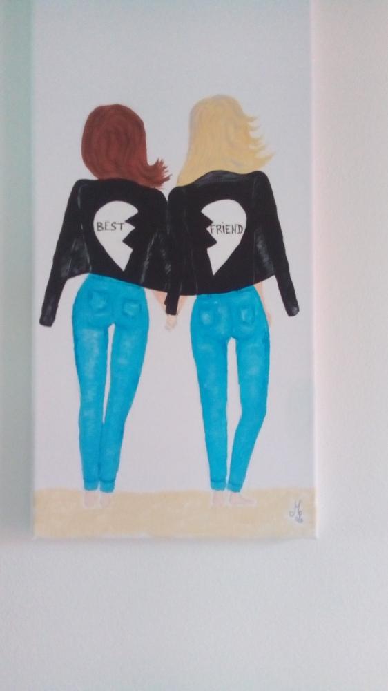 vends toile peinte