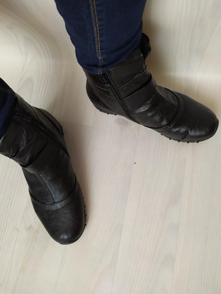 bottines noires t38