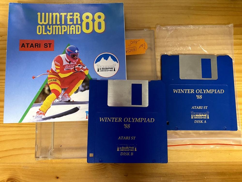 Winter Olympiad '88 ATARI ST