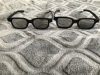 2 Paires de Lunettes 3D