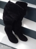 Bottes noires Nubuck