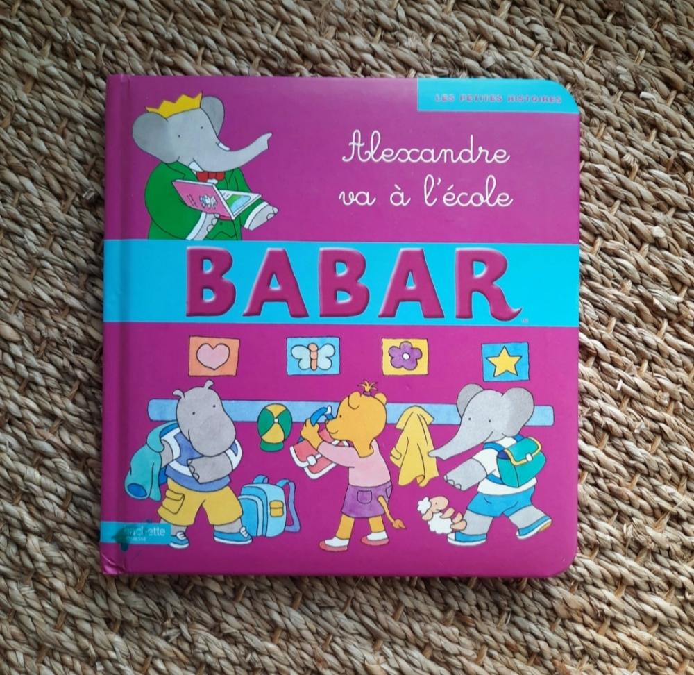 Livre Babar, Alexandre va a l'école