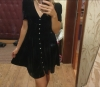 Robe Zara Velours noir