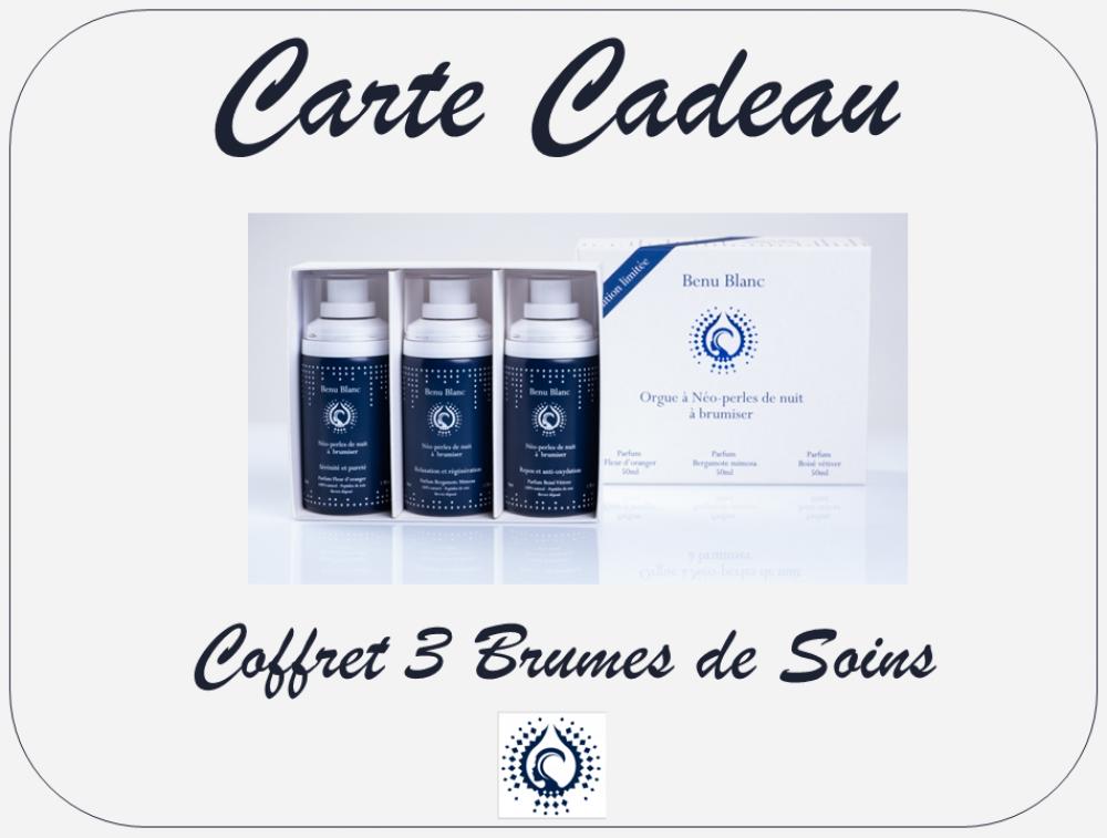 Carte Cadeau - Coffret 3 Brumes de Soins