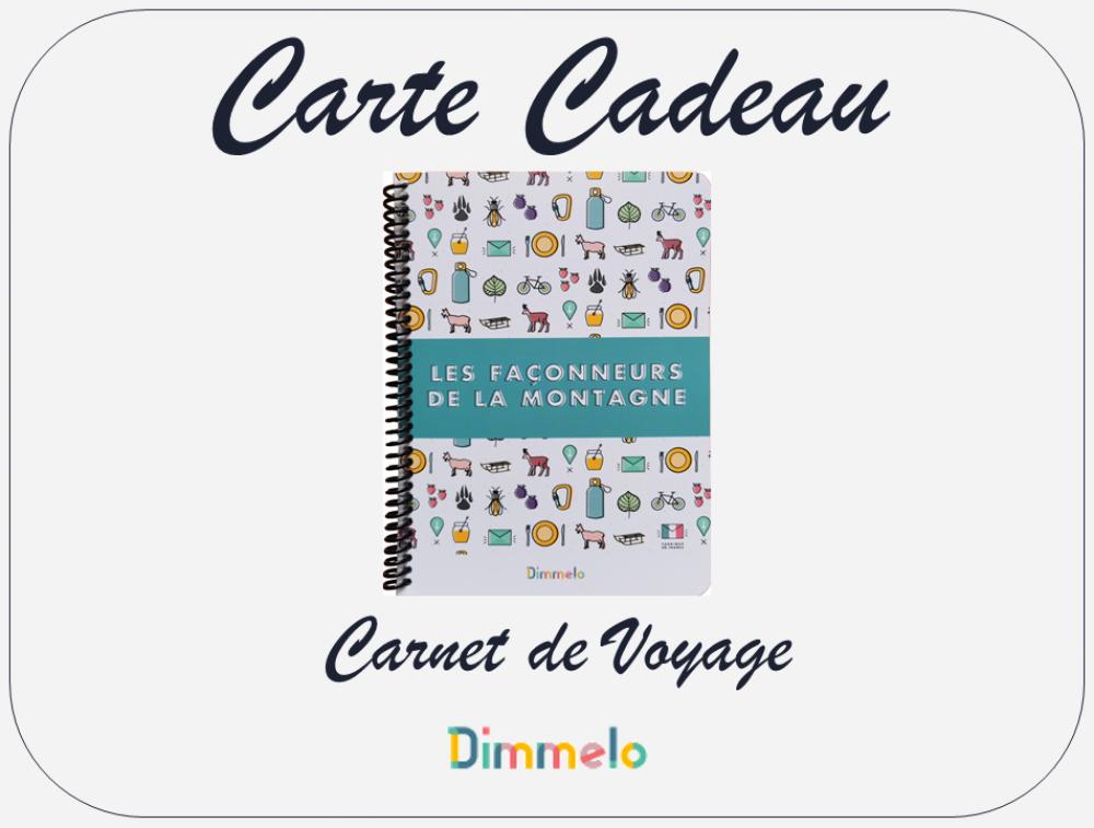 Carte Cadeau - Carnet de Voyage