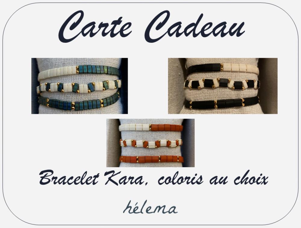 Carte Cadeau - Bracelet Kara, à l'unité