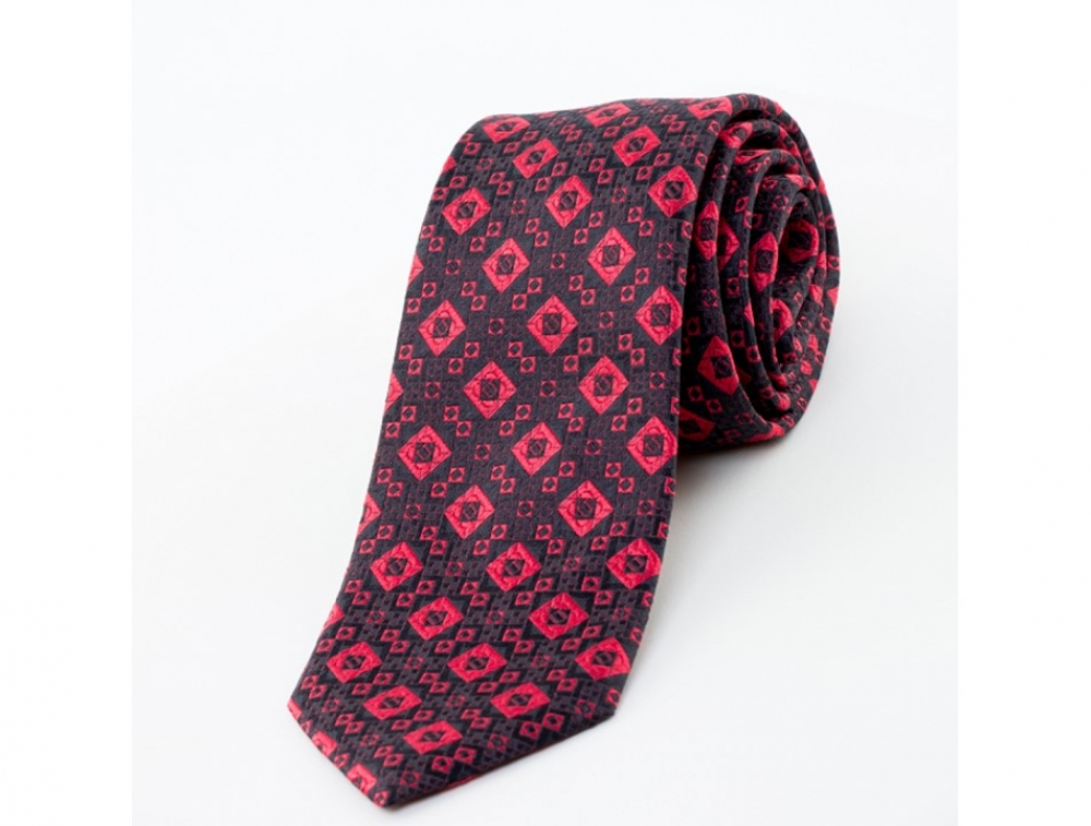 """Cravate en soie \""""La Stendhal\"""""""