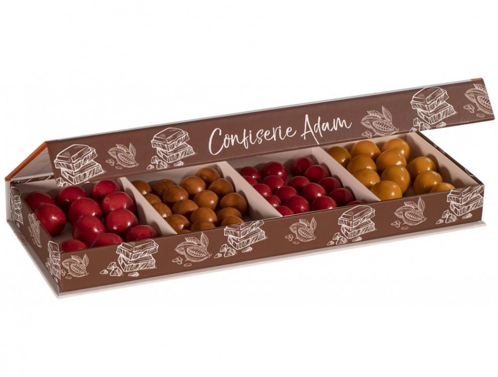 Coffret Pâtes de fruits chocolat