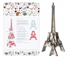 Tour Eiffel bois 3D à monter : colori inspiration Mirò