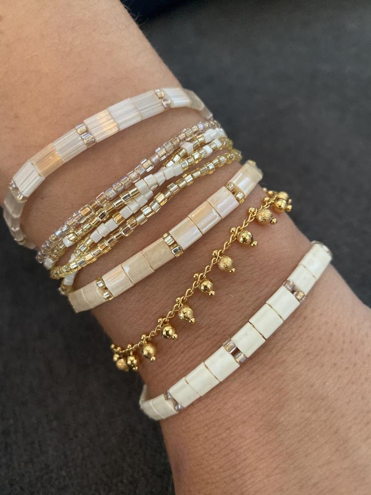 Bracelet New Kara – Beige