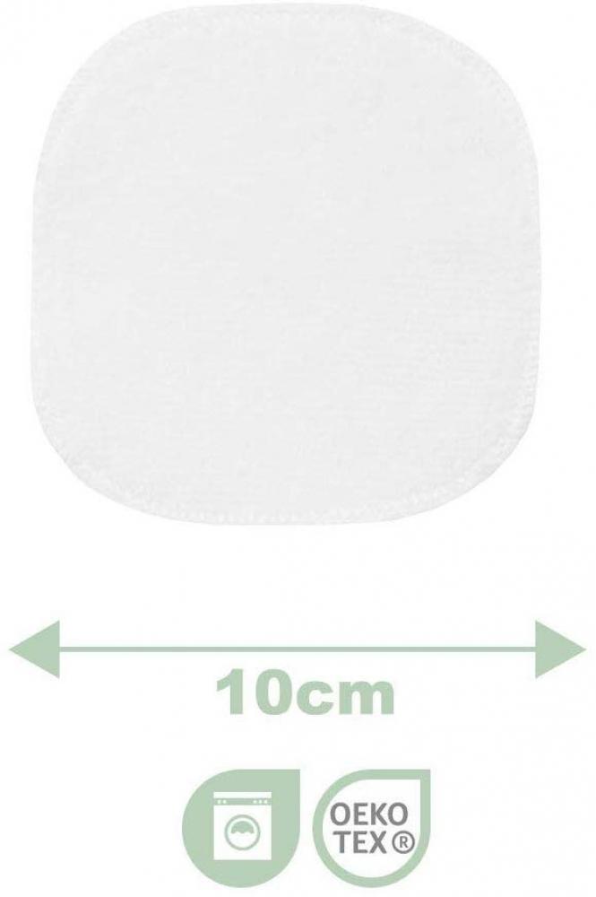 7 Lingettes Démaquillantes Bi-Face 10x10cm