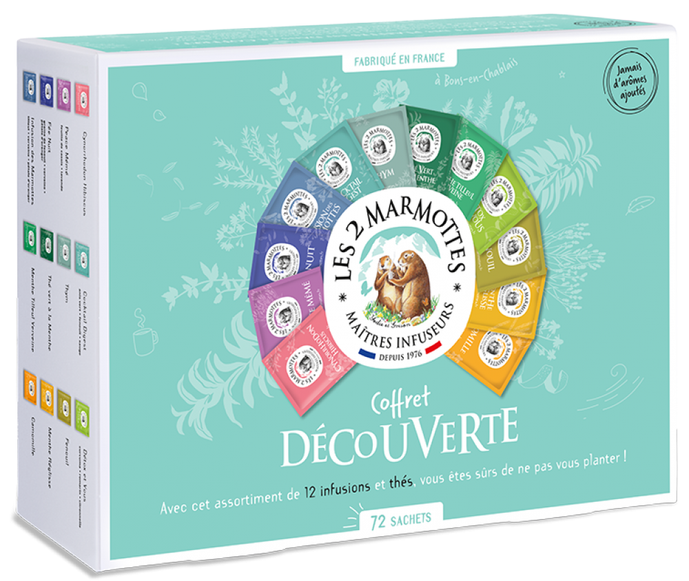 Coffret Découverte (11 Infusions & 1 Thé)