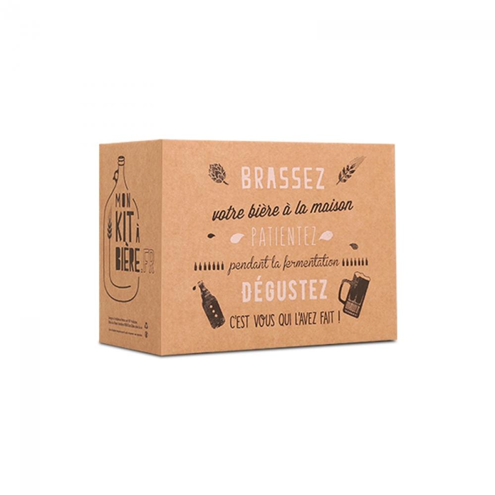 Kit de Découverte Bière Blonde de Brassage Artisanal 2 litres