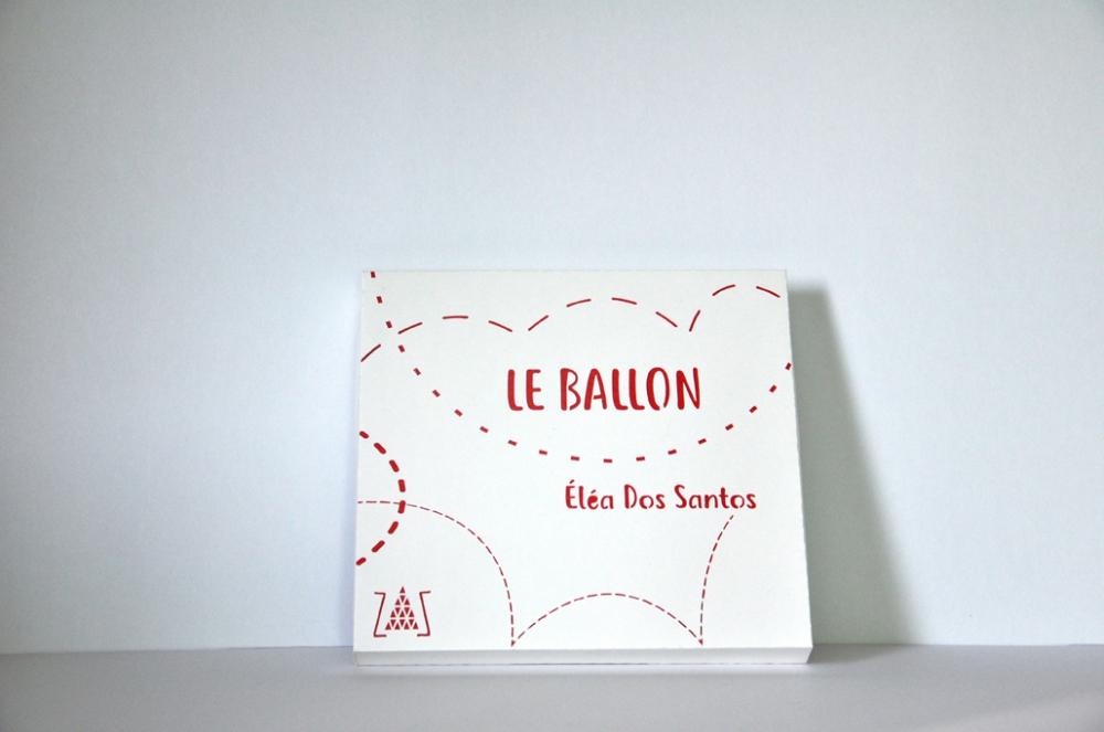 """livre tissu \""""Le ballon\"""""""