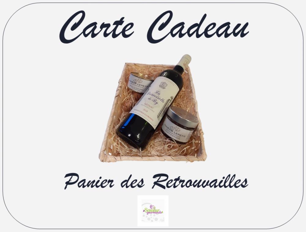 Carte Cadeau - Panier des Retrouvailles