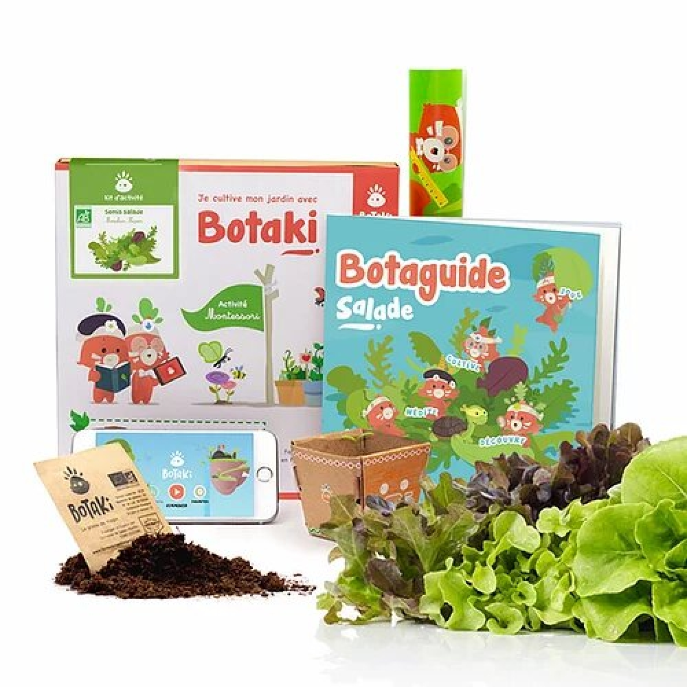 Kit Activité Semis Salade