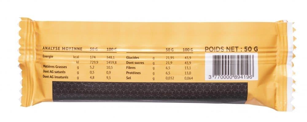 10 Barres énergie bio – 50 g