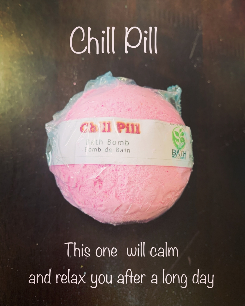 Chill Pill Bath Bomb