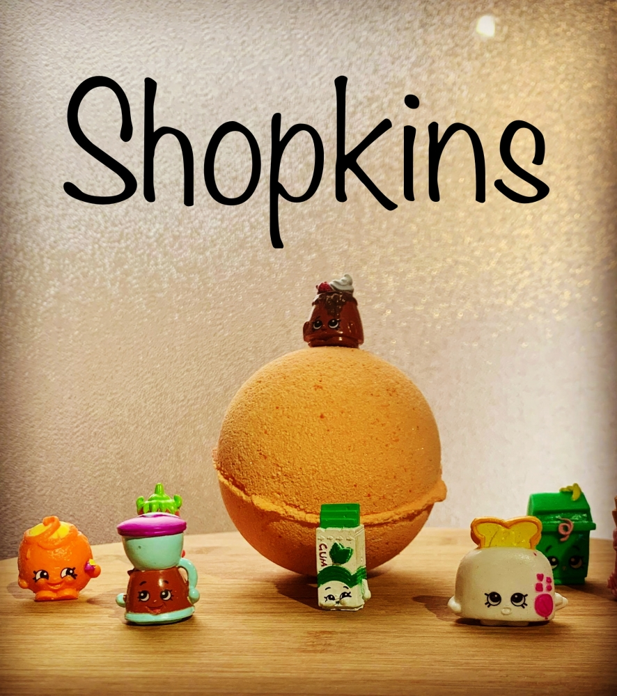 Shopkins Bath Bombs