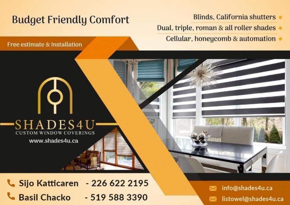 Shades4u Listowel (custom window coverings)