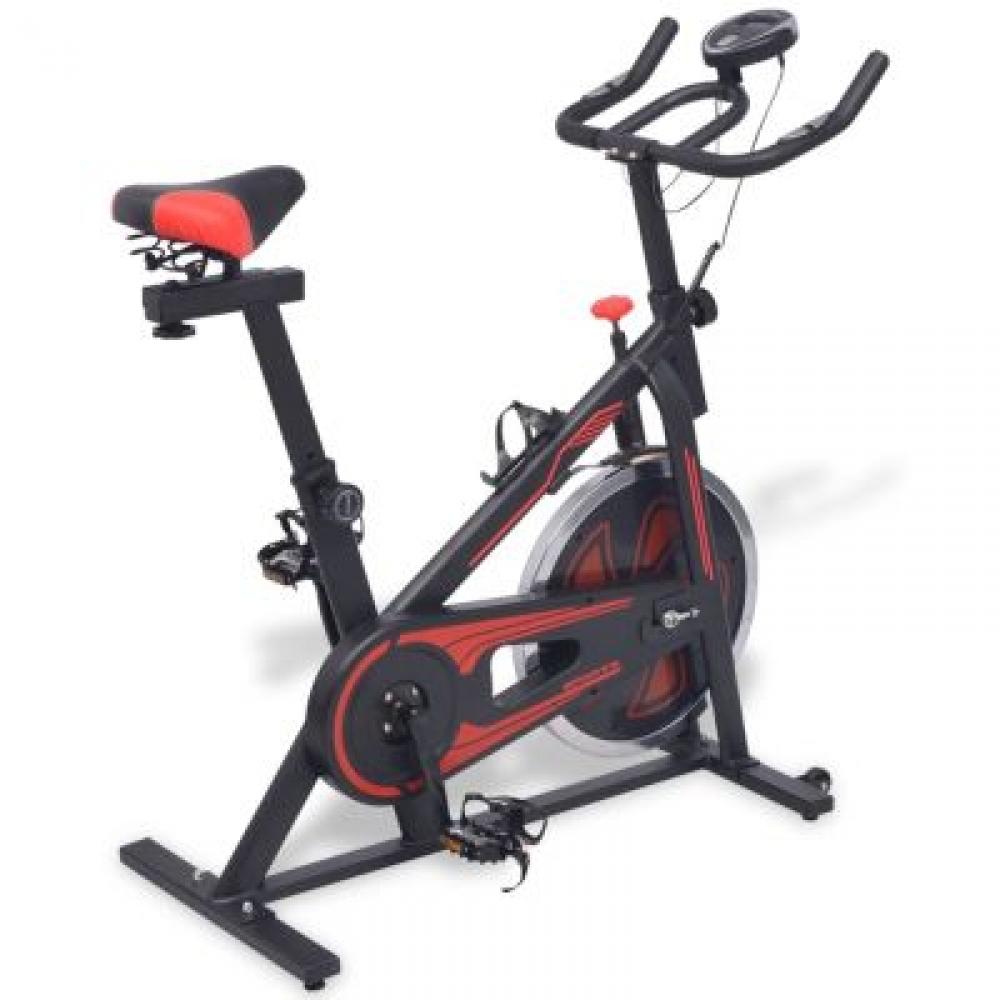 Exercice Spinning Bike avec capteurs d'impulsion