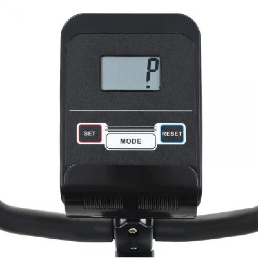 Vélo d'exercice couché magnétique vidaXL avec mesure d'impulsion