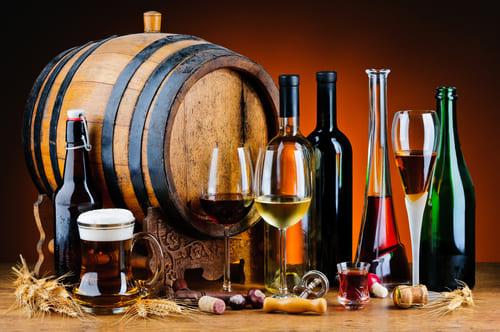 aliments mauvais pour le coeur - alcool
