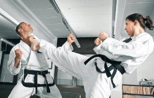 coach sportif en arts martiaux