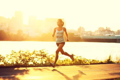 La fréquence de la course à pied