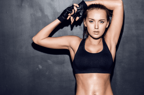 femme sportive