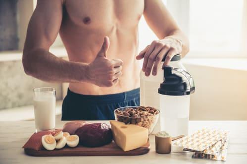 L'alimentation adaptée pour la musculation