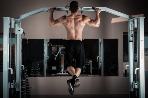 musculation du dos, traction