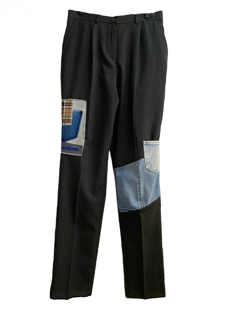 Pantalon Pince Mix Patchwork