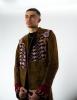 Manteau en daim oriental