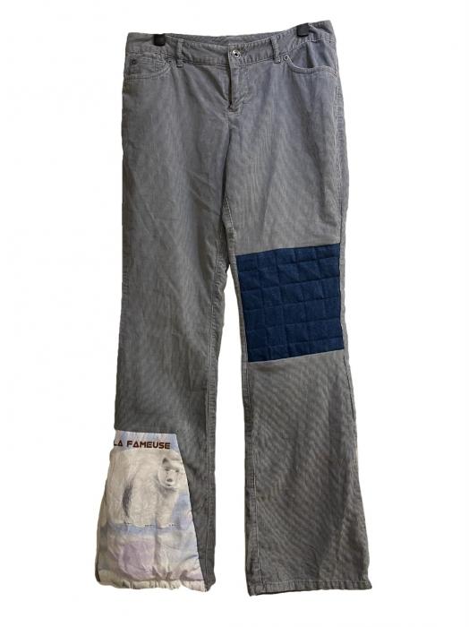 Pantalon velours & doudoune