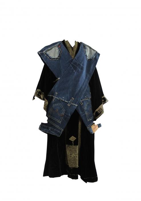 Robe orientale jean