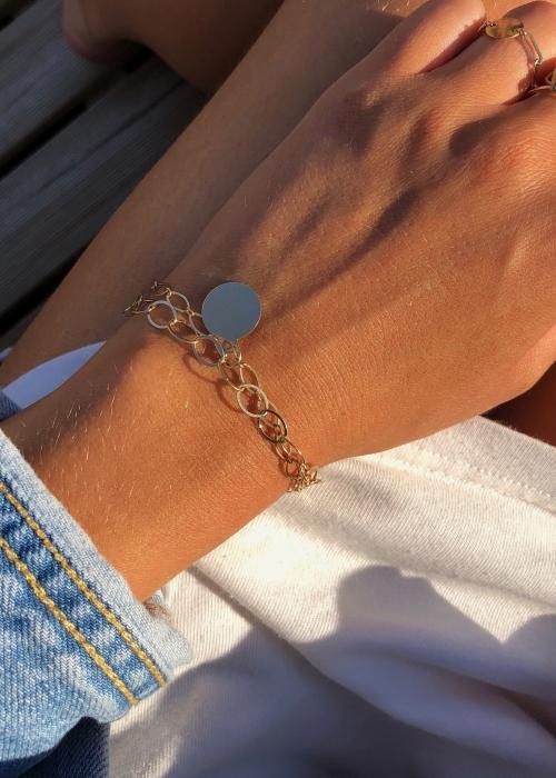 Bracelet Double Chaîne