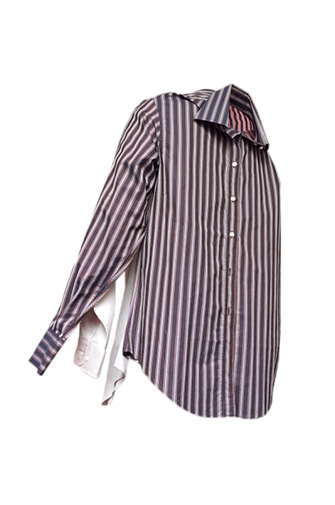 Double chemise oversize